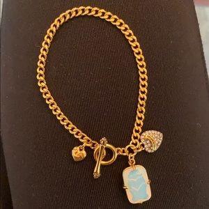 Rare authentic Juicy Couture petite charm bracelet